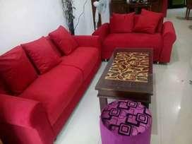 Service sofa & springbad