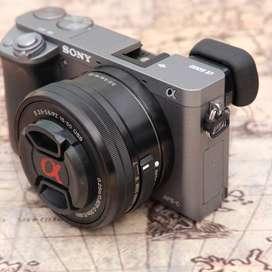 Sony A6000 Sc 2 rban kit 16-50mm OSS GREY Fulslet kode 1130D19