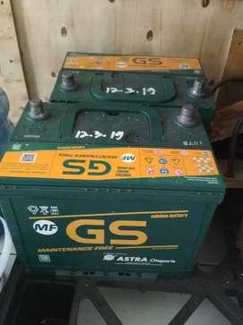 Jual Aki GS MF 12v 60 A