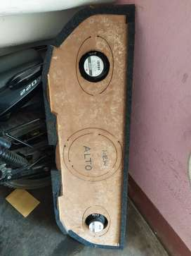 Maruti Alto Parcel tray with two new speakers Alto (all variant )