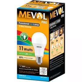 Bohlam LED 3 Mode Penerangan (11 watt, 5 Watt, 1,5 watt)