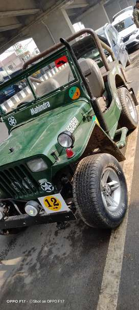 Mahindra Jeep 1989 exchange offer