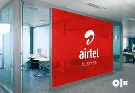 Airtel process hiring for Back Office/Telecaller/Back office/ BPO/ KPO