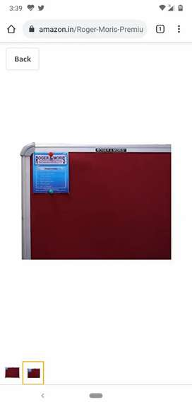 Selling white board and sticky note board