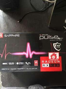 SAPPHIRE AMD RX 580 8gb overclock graphic card