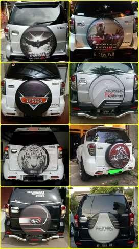 Sedia Sarung Cover Ban Rush Terios Escudo Sidekick Touring Feroza Taft