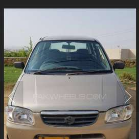 Rent A car alto 2006 with driver only