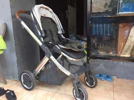 Stroller Oyster 2 color Tangsen Grey (Second)