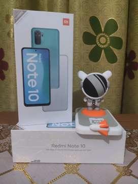 Redmi Note 10 4/64 Baru Segel,Garansi Resmi By Xiaomi