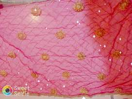 New designer Duptia in net embroidery with lase border
