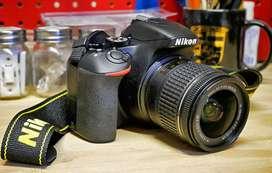 Nikon DSLR camera for rent