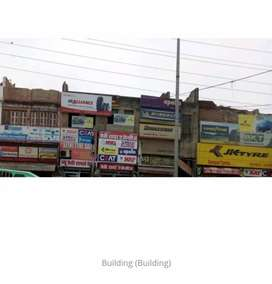 Commerical building on Jarib chowki chouraha