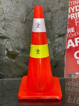 Traffic Cone Rubber Murah Kota Medan
