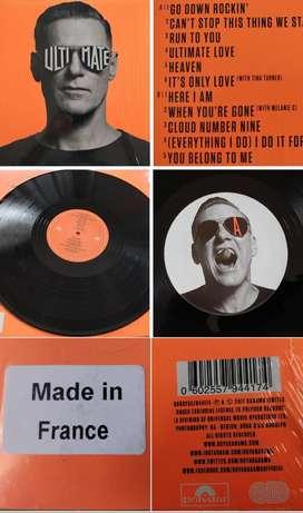 Vinyl LP records (long play) BRYAN ADAMS ULTIMATE & 16 ROCK POP LPs!!