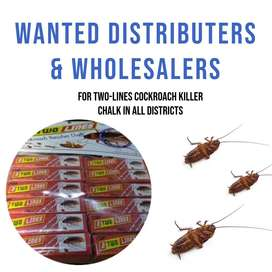 wanted distributor in all districts