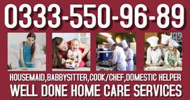 We provide all Home care Servant reliable trust worthy verified