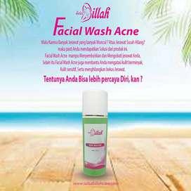 Skincare Terbaik dan Aman, Facial Wash Acne, Salsabillah Care