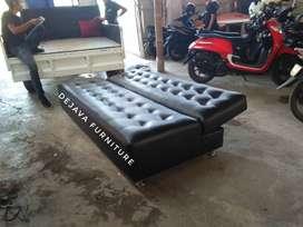 sofa lipat uk 2 m .bisa atur warnanya