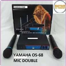 jual mic yamaha wireless 2 mic