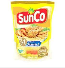 Minyak goreng sunco 2ltr