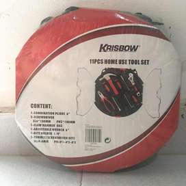 Krisbow toolskit 11pcs termurah
