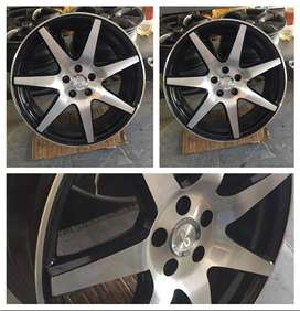 Alloy rims 15' 16' 17' inches available For all cars