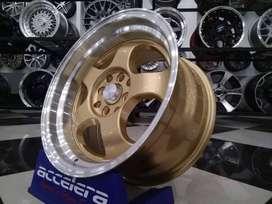 velg racing murah ring 16 cocok di mobil jazz xenia city bisa kredit