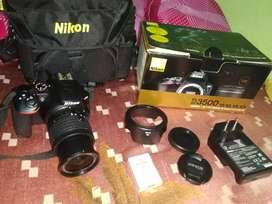 Nikon3500d camera
