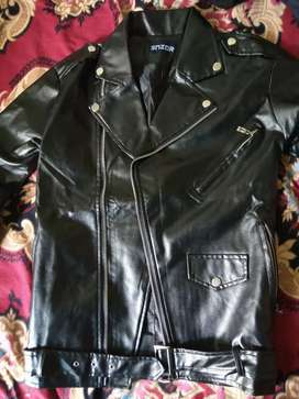 Leather jacket small size