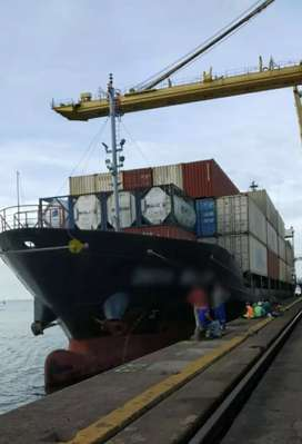 Jual kapal other cargo ship contener.Gren capacity 5383. M3
