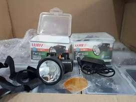 FREE ONGKIE-HEAD LAMP SENTER KEPALA LUBY L2871 7W-SUPER TERANG