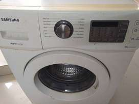 Used 5.5 L frontload samsung washing machine for 7000 only