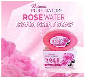 Autumn Pure Nature Rose Water Moisture Transparant Soap