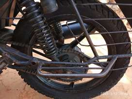 Discover 100 cc.Good contition/self started all pappers are clear.