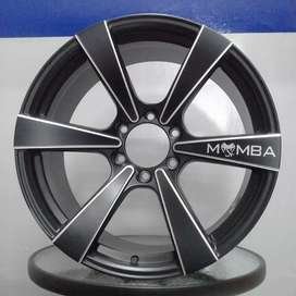 Velg racing mamba6 r20x9.5 h6x139.7 et20 on pajero fortuner