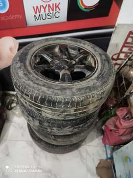 75% percent tyre with Allow Wheels  185/70R14