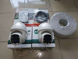 Paket 4 CCTV HIKVISION Mix PTZ CCTV Full HD 2MP: