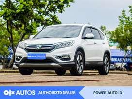 [OLX Autos] Honda CR-V  2016 2.4 Bensin A/T Putih #Power Auto ID
