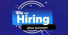 Office ASSISSTANT Required