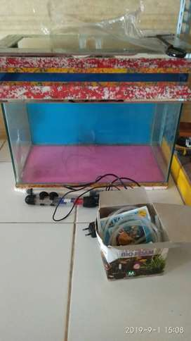 Dijual Akuarium Ikan Lengkap Murah