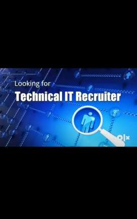 Need US IT technical recruiter