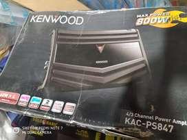 Power Kenwood 4 canel KAC PS847