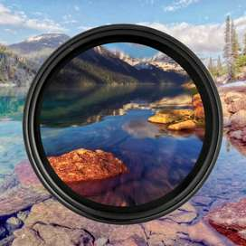 Junestar 58mm Variable ND Filter ND2 to ND400 Bisa di Lensa Kit Canon