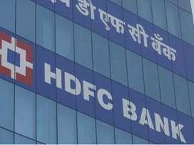 Job requirment in hdfc bank