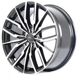 pelek HSR EVOKES R18 Honda Civic, HRV, CRV, BRV, innova, Terios dll