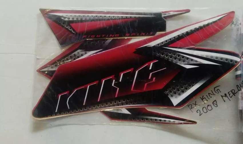 Striping RX King 2008 merah