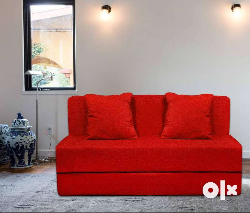 Sofa cum bed 6x3 with cushion at resonable price