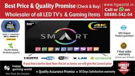 """50""""Smart Led Tv Unbelievable(Best Quality Wholesale 24""""to65"""")Brand New"""