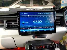 Head Unit Android Wi-Fi Skeleton Layar 10 in