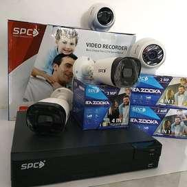 CCTV SPC TORNADO 4CH 2MP PROMO BULAN INI SAJA